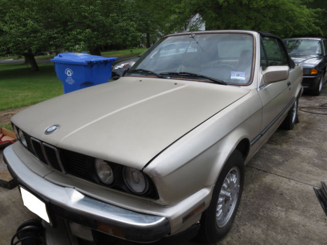 1989 bmw 325i convertible classic e30 needs work for sale bmw 3 series 1989 for sale in. Black Bedroom Furniture Sets. Home Design Ideas