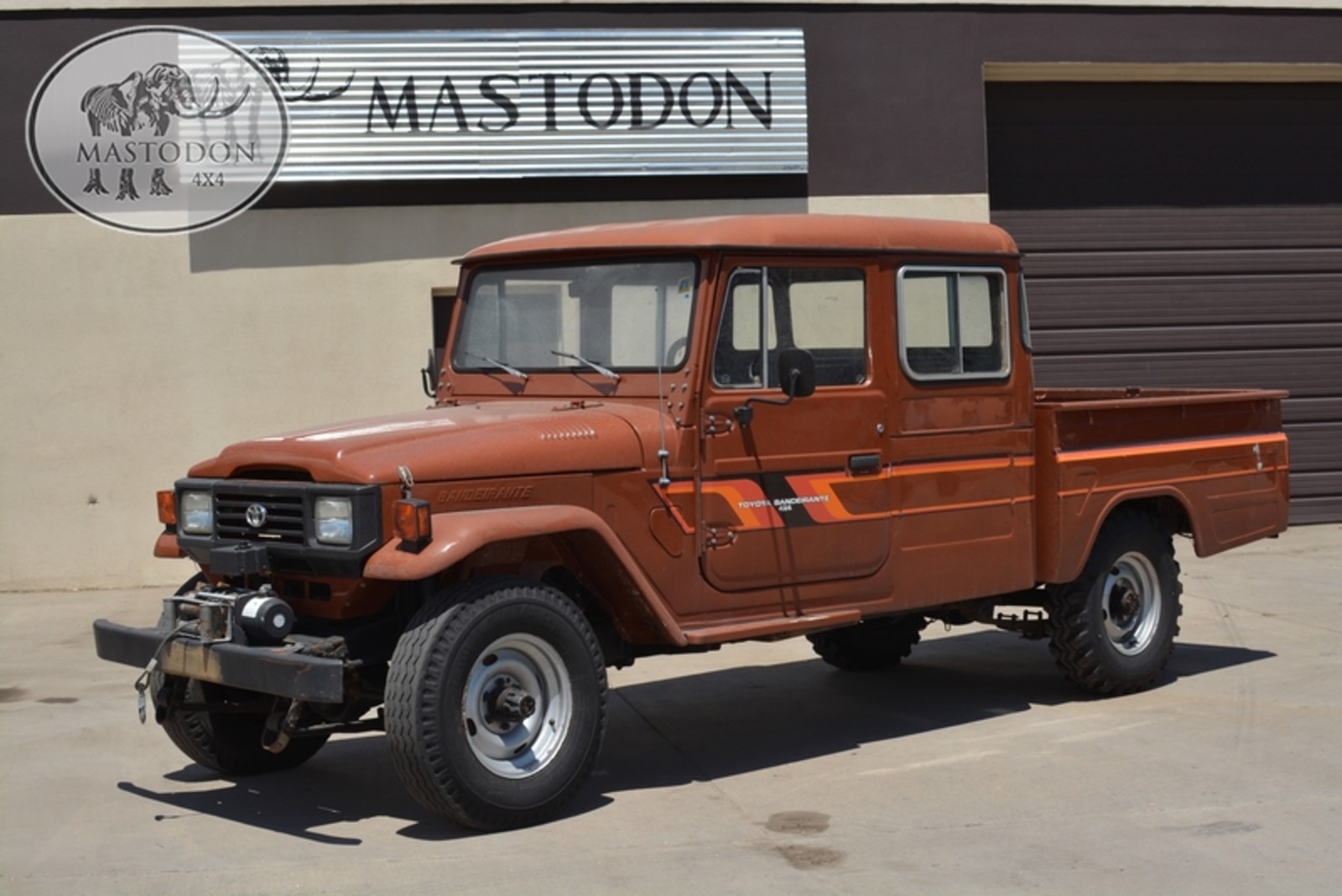 1989 brown 4x4 truck fj land cruiser fj40 fj45 for sale. Black Bedroom Furniture Sets. Home Design Ideas