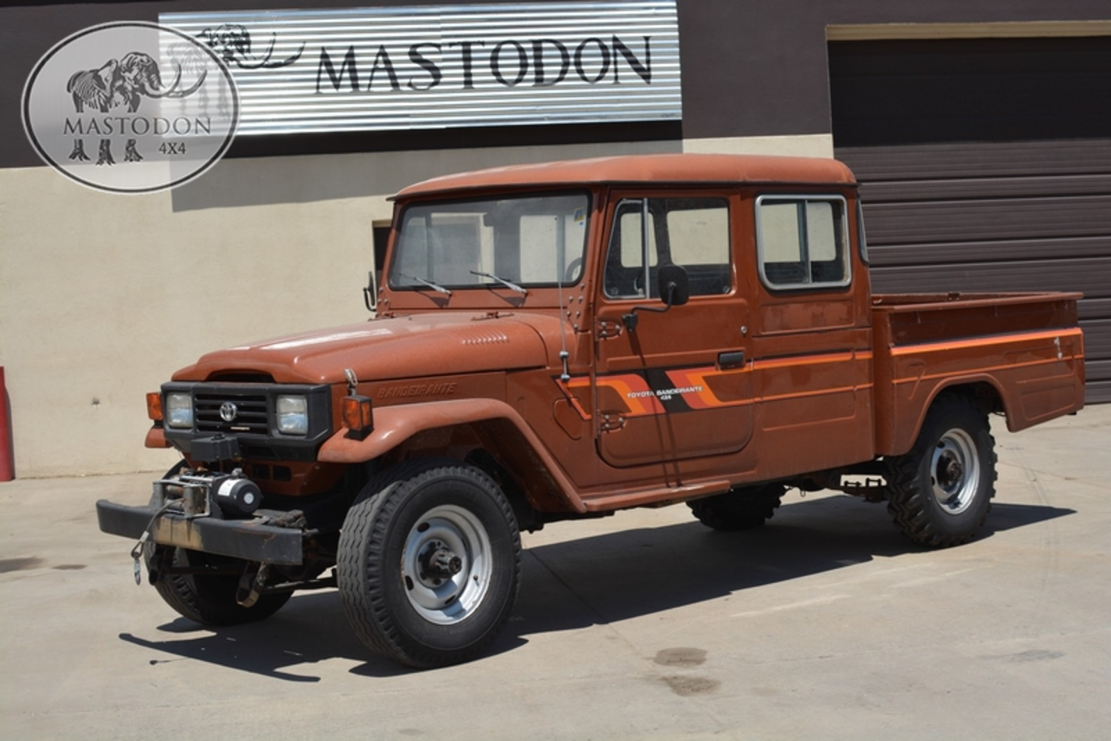 1989 Brown 4x4 Truck Fj Land Cruiser Fj40 Fj45 For Sale