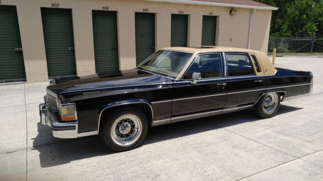 1989 cadillac fleetwood for sale cadillac brougham 1989. Black Bedroom Furniture Sets. Home Design Ideas