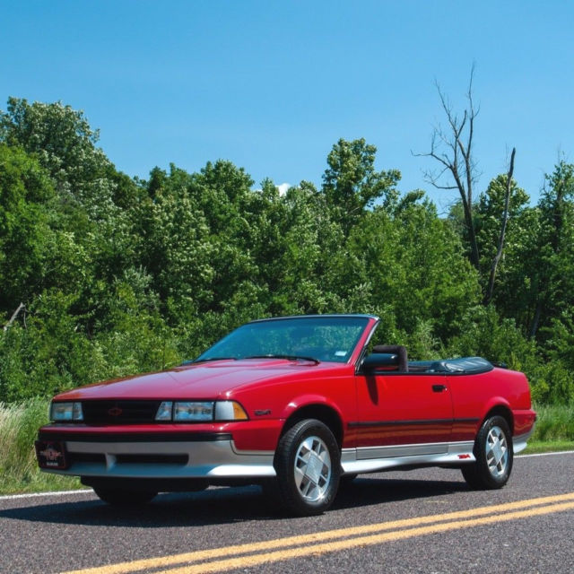 1989 chevrolet cavalier z24 convertible for sale chevrolet cavalier chevrolet cavalier z24 1989 for sale in saint louis missouri united states davids classic cars