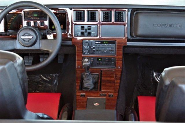 1989 Chevrolet Corvette Convertible 70 913 Miles Red 5 7l
