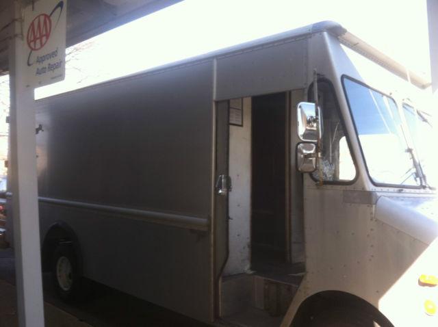 Gmc Truck For Sale >> 1989 chevrolet grumman aluminum step van bread van truck ...