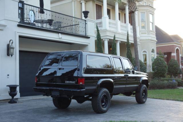 1989 Chevrolet Suburban, 3/4 ton, 4X4, 40k restoration, ZZ4 crate ...