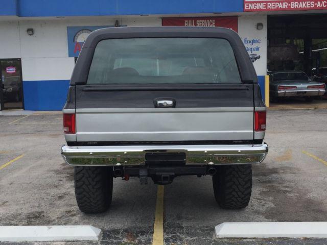 1989 Chevy Blazer Full Size K 5 For Sale Chevrolet