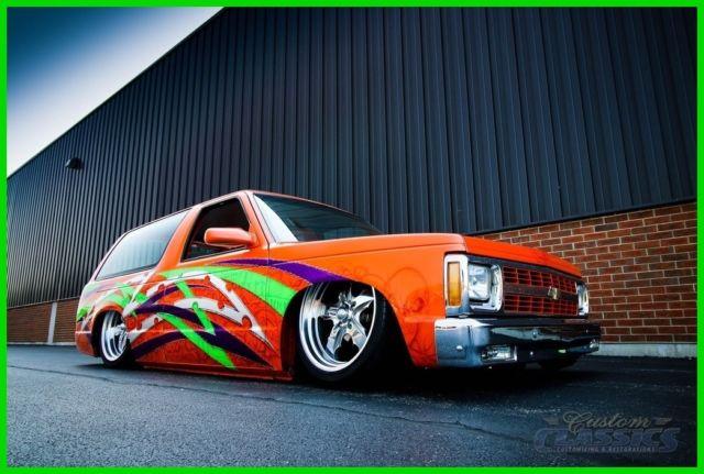1989 Chevy S10 Blazer House of Kolors SEMA Show Truck, 383