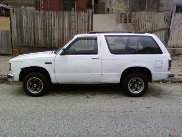 1989 chevy s10 blazer very good condition for sale chevrolet s 10 1989 for sale in. Black Bedroom Furniture Sets. Home Design Ideas