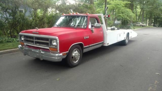 1989 Dodge D350 Ramp Truck Car Hauler Race Car For Sale Dodge