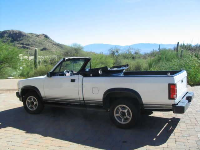 1989 dodge dakota convertible pickup rare one arizona owner no. Cars Review. Best American Auto & Cars Review