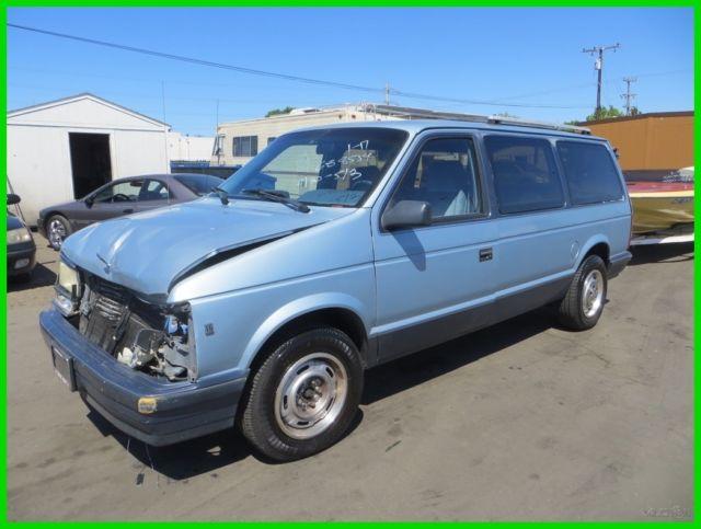 sale   dodge grand caravan 1989 for sale in anaheim california