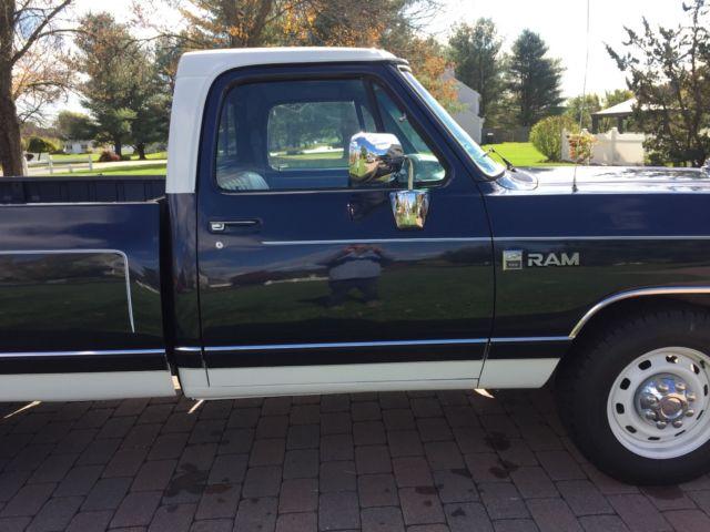 1989 Dodge Ram D100 Pickup for sale - Dodge Other Pickups ...