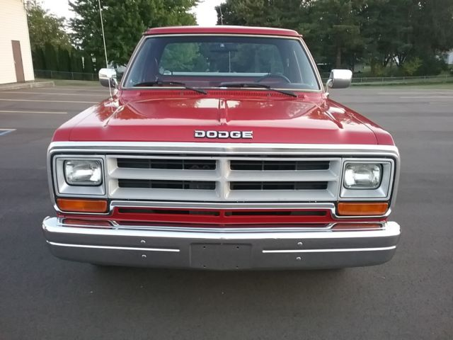 1989 dodge ram d150 3 9l v6 auto fire department owned 40k miles clean for sale. Black Bedroom Furniture Sets. Home Design Ideas