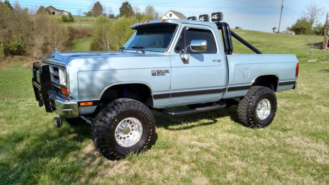 1989 DODGE RAM W150 4X4 SHORT BED RESTORED LIFTED PICKUP AWESOME for sale - Dodge Other Pickups ...