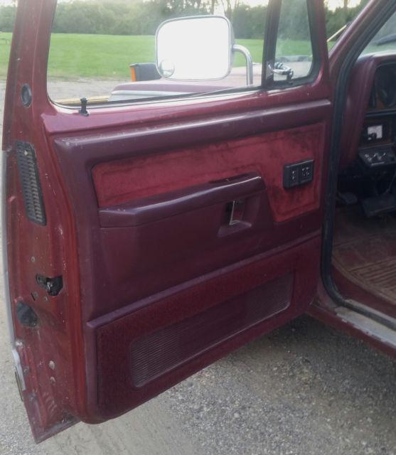 1989 Dodge Ramcharger LE Sno Commander For Sale