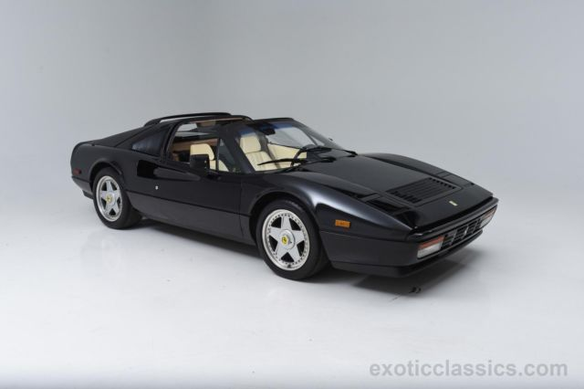 1989 Ferrari 328 Gts 36 141 Miles Black V8 Manual For Sale