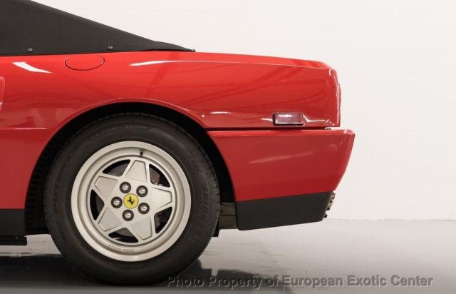 1989 ferrari mondial t cabriolet recent major for sale ferrari mondial t. Black Bedroom Furniture Sets. Home Design Ideas