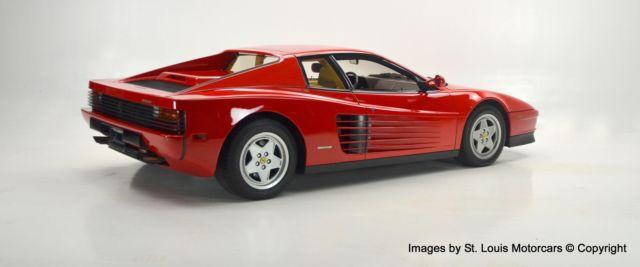 1989 Ferrari Testarossa Rosso Corsa Beige 16 384 Miles A1