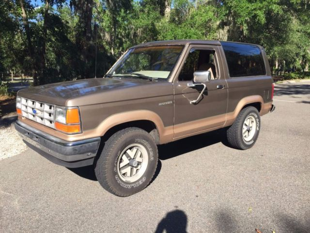 1989 ford bronco ii eddie bauer for sale ford bronco ii 1989 for sale in hilton head island. Black Bedroom Furniture Sets. Home Design Ideas
