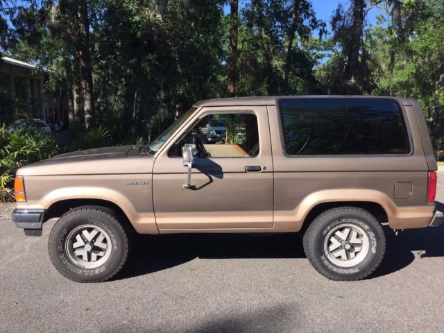 1989 Ford Bronco Ii Eddie Bauer For Sale Ford Bronco Ii