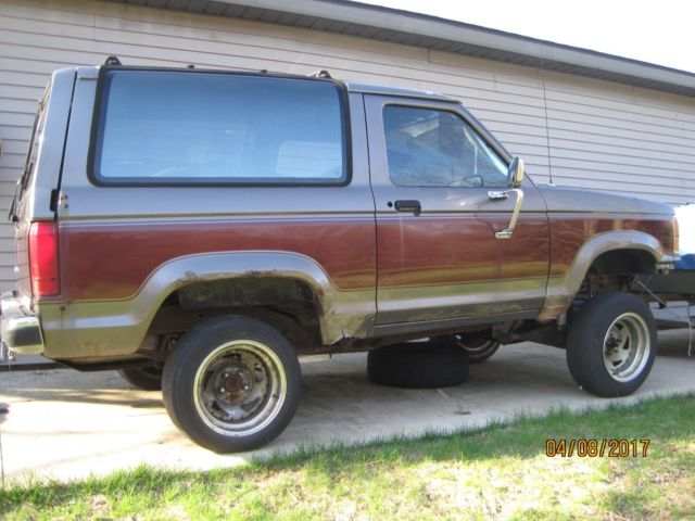 1989 Ford Bronco II XLT 4X4 for sale - Ford Bronco II 1989 ...
