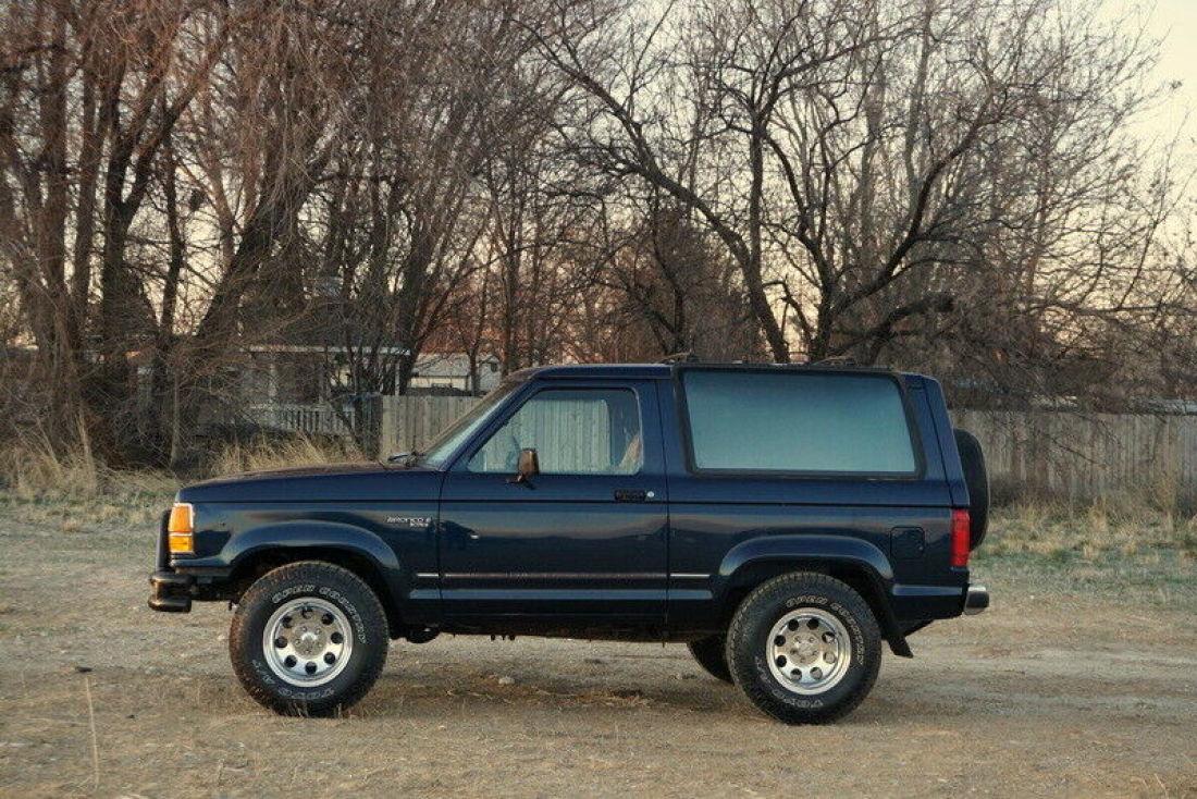1989 Ford Bronco II XLT, Original paint, 5 speed, V6 ...