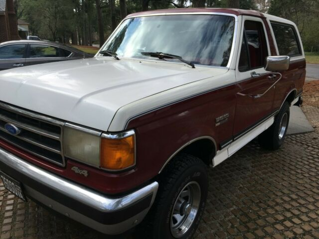 1989 Ford Bronco, nice truck from Washington state 5.0 XLT ...