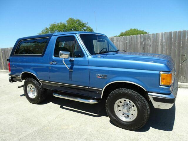 1989 Ford Bronco XLT 2dr 4x4 5.8L V8 EFI Engine Super ...