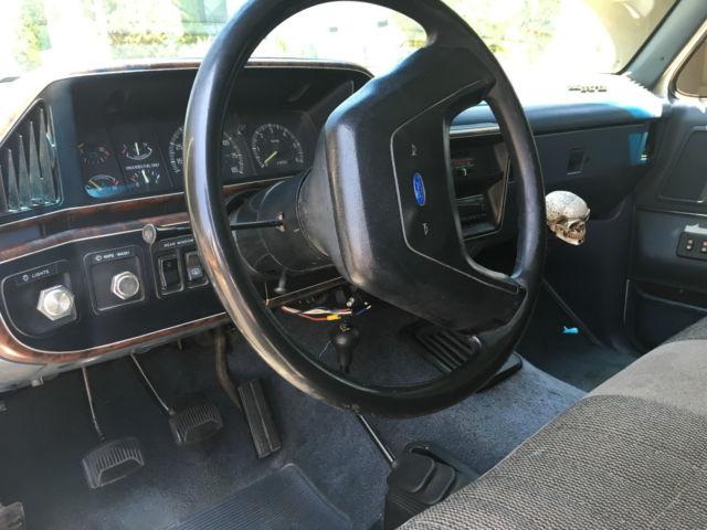 1989 Ford Bronco XLT Sport Utility 2-Door 4.9L for sale ...