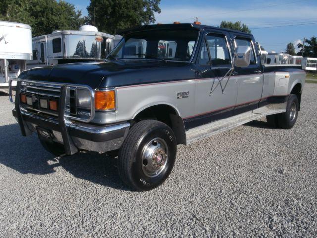 4 Wheel Diesel : Ford f crew cab dually diesel wheel drive