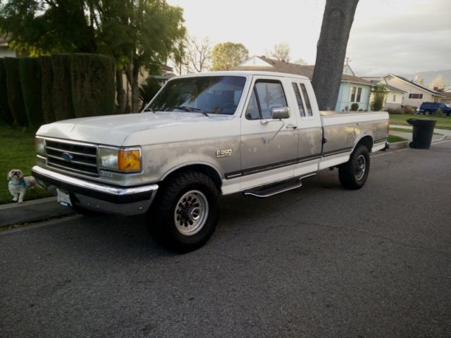 1989 Ford F250 Diesel 1989 Ford F250 XLT Lariat Diesel Long Bed Clean Title 3 ...