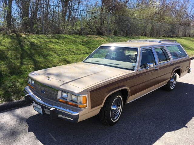 1989 ford ltd country squire station wagon like buick estate gm chevrolet for sale ford. Black Bedroom Furniture Sets. Home Design Ideas