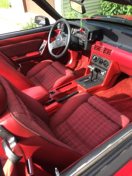 1989 ford mustang 5 0 convertible for sale ford mustang 1989 for sale in hebron indiana. Black Bedroom Furniture Sets. Home Design Ideas