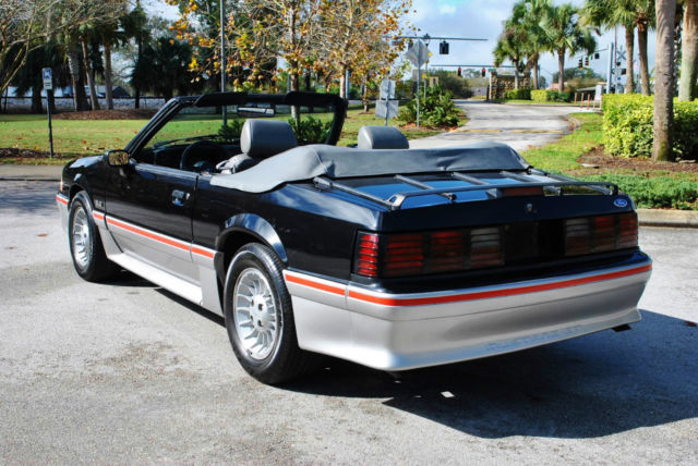 1989 Ford Mustang Gt 5 0 Ho Convertible 58 625 Original