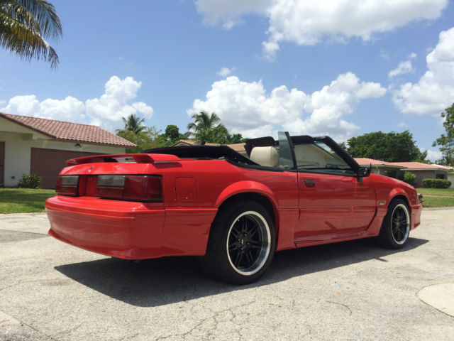 1989 Ford Mustang GT Foxbody Convertible 5.0L - 347 ...