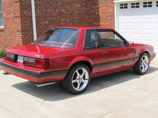 1989 Ford Mustang Lx 5.0 Specs