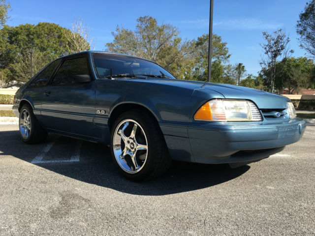 1989 ford mustang lx hatchback 5 0l supercharger heads cam exhaust clean for sale ford. Black Bedroom Furniture Sets. Home Design Ideas