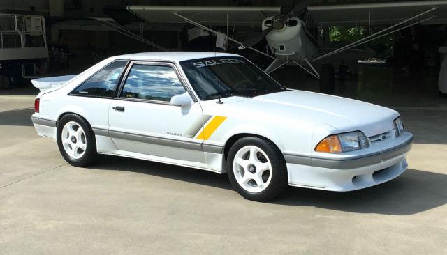 1989 Mustang Saleen Ssc