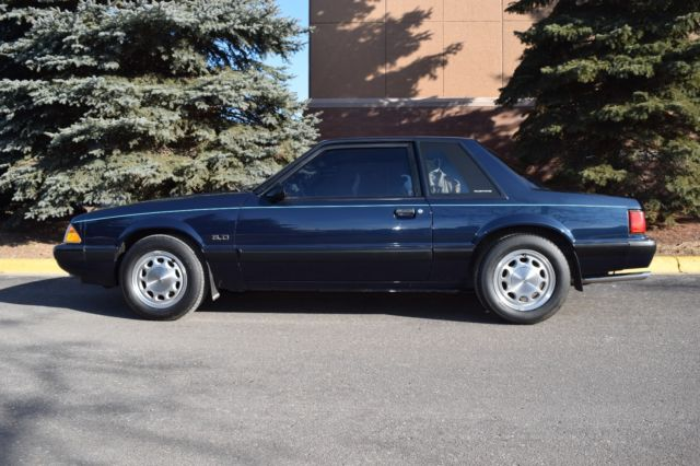 1989 Mustang Shadow Blue