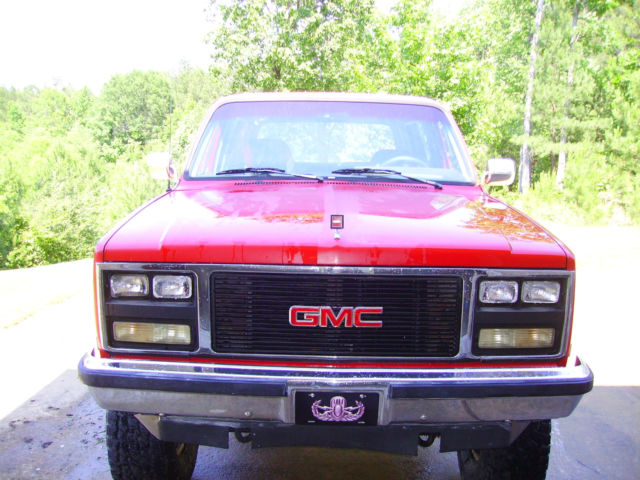 1989 Gmc Jimmy / Blazer / K5 Runs and drives great  for sale - GMC