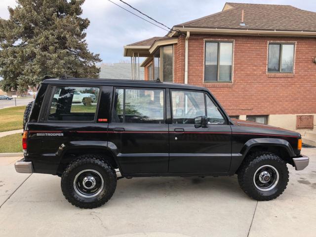 Gem Car For Sale >> 1989 Isuzu Trooper SE 4x4 SUV – 1st Gen Automatic Transmission – *RARE* – Black for sale - Isuzu ...