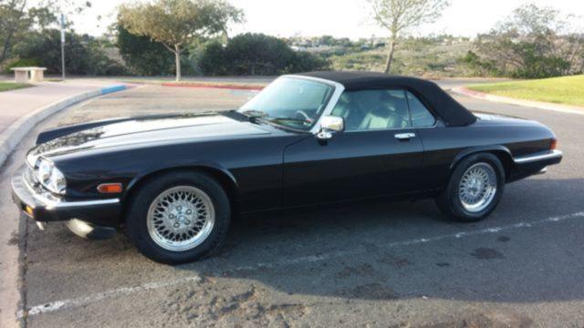 1989 Jaguar Xj S V12 Convertible Lots Of Service Records