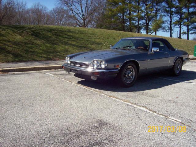 1989 Jaguar Xjs V12 Convertible 2 Door Low Miles Factory
