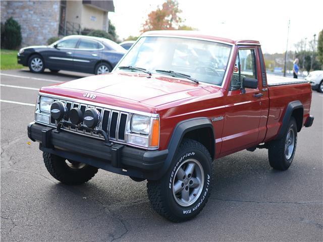 1989 jeep comanche 5 speed manual 4x4 florida vehicle. Black Bedroom Furniture Sets. Home Design Ideas