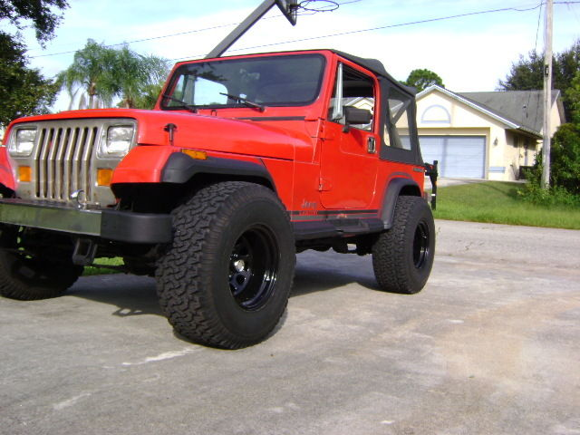 1989 jeep wrangler laredo xj for sale jeep wrangler two door 1989 for sale in port saint lucie for Jeep wrangler red interior for sale
