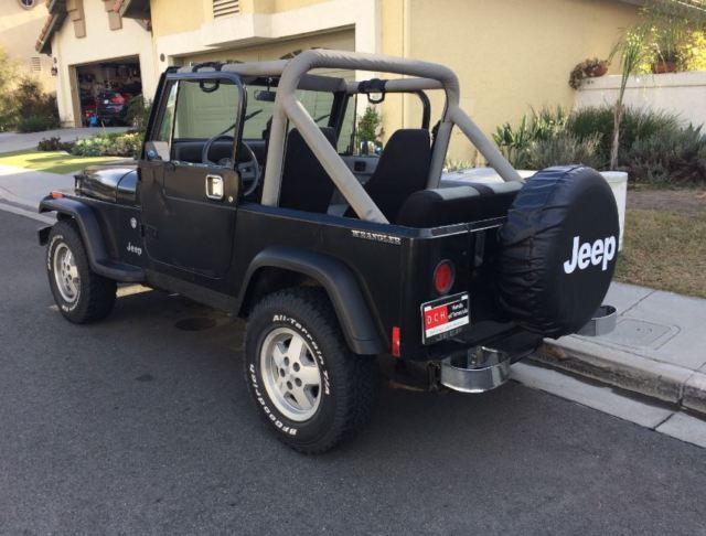 1989 Jeep Wrangler Laredo Yj For Sale Jeep Wrangler