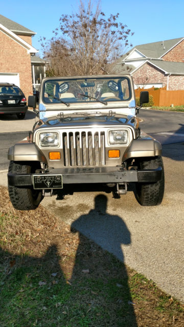 1989 jeep wrangler sahara sport utility 2 door 4 2l for sale jeep. Cars Review. Best American Auto & Cars Review