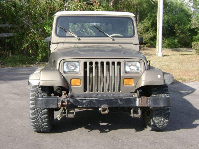 1989 Jeep Wrangler Sahara With Hard Top Amp Doors Low Miles