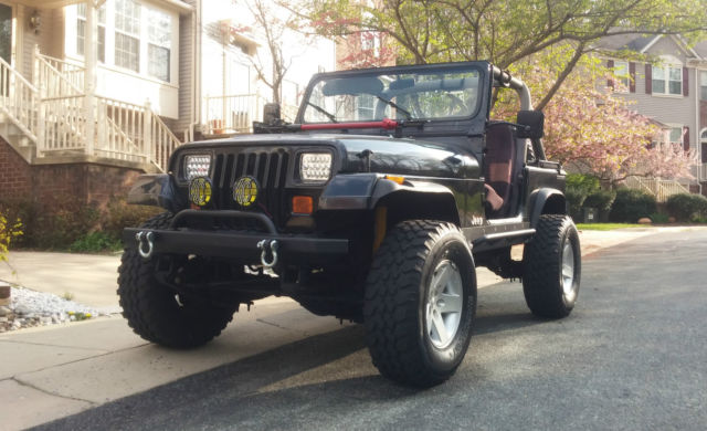 1989 Jeep Wrangler Yj 4wd 4 Quot Lift 33 Quot Tires 4 88 Gears