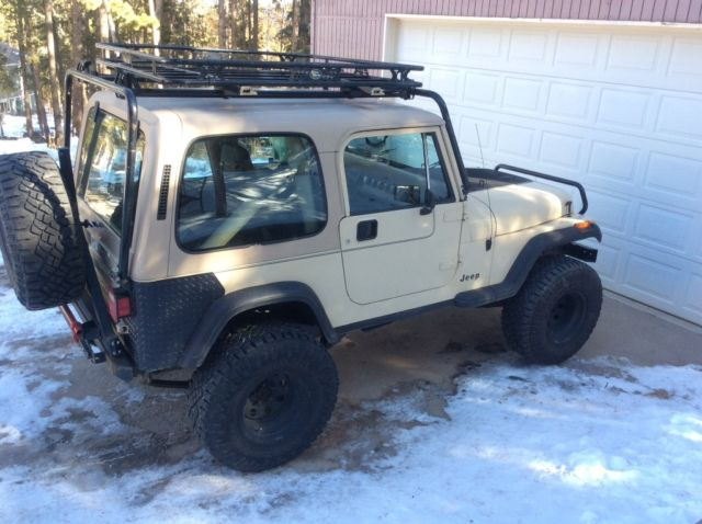 1989 jeep wrangler yj 4x4 lifted hardtop for sale jeep wrangler yj 1989 for sale in conifer. Black Bedroom Furniture Sets. Home Design Ideas