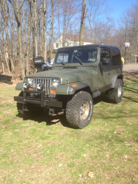 1989 jeep wrangler yj base sport utility 2 door 4 2l for sale jeep. Cars Review. Best American Auto & Cars Review